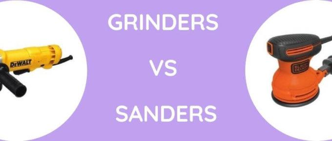 Grinders Vs Sandersa