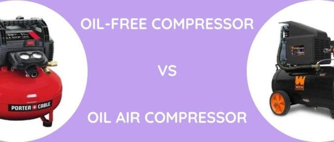 Oil-Free Vs Oil Air Compressor