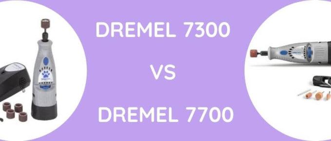 dremel 7300 vs dremel 7700