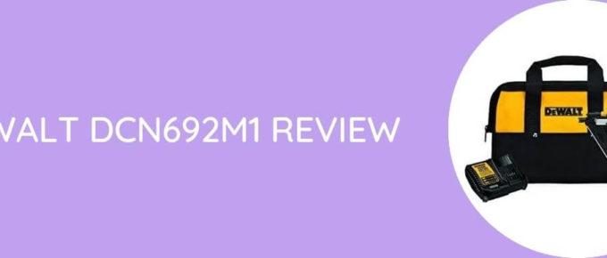 Dewalt DCN692M1 Review