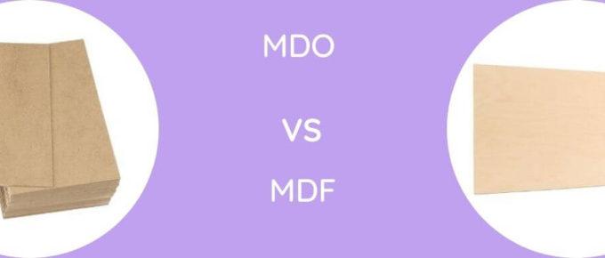 MDO Vs MDF